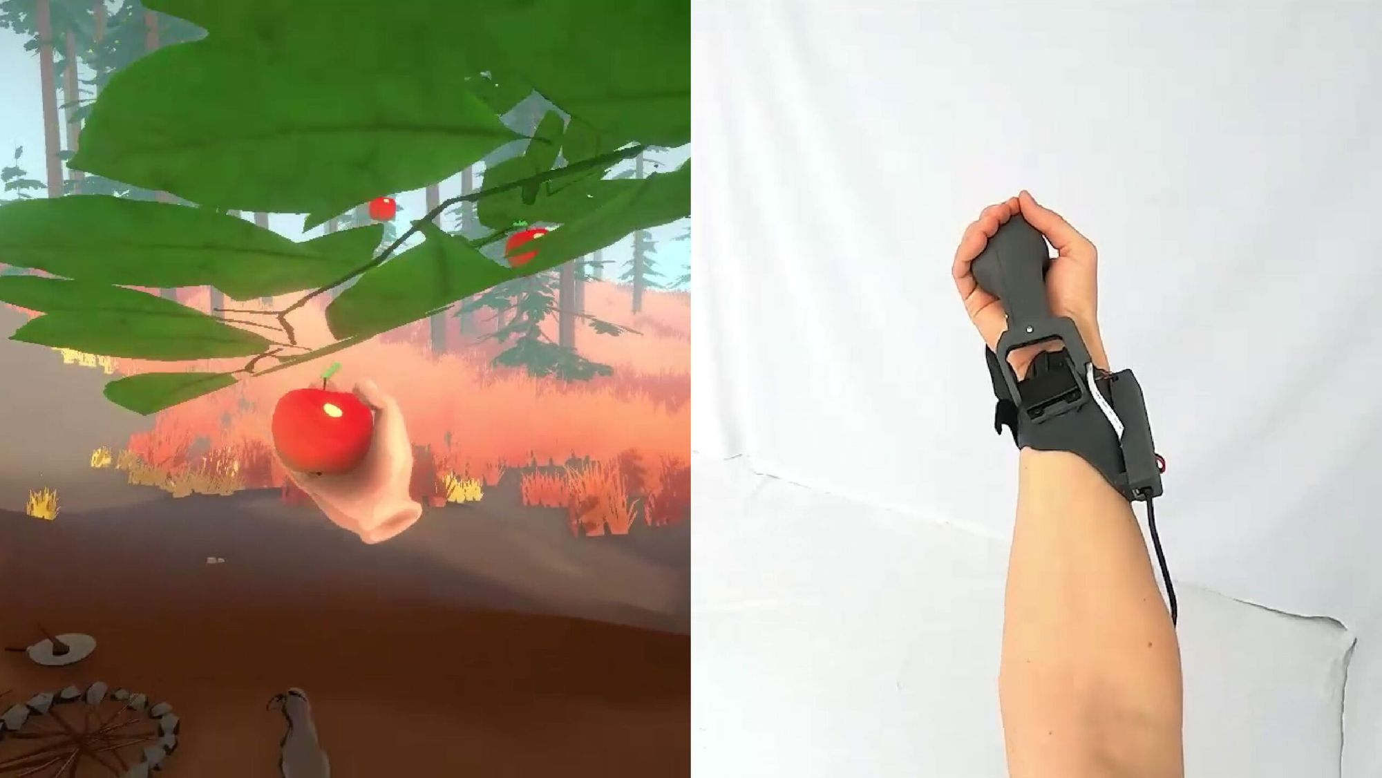 Microsoft Research presents PIVOT, placing VR objects into your hand