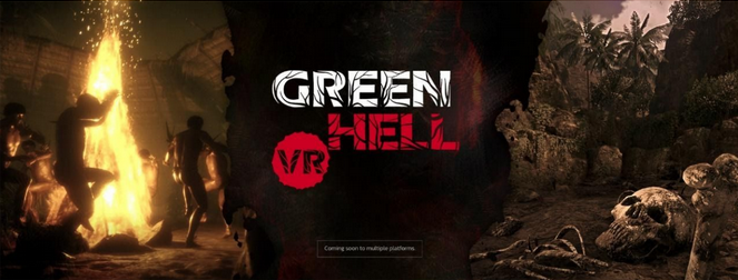 """Survival game """"Green Hell"""" coming to PC VR and Oculus Quest in 2021"""