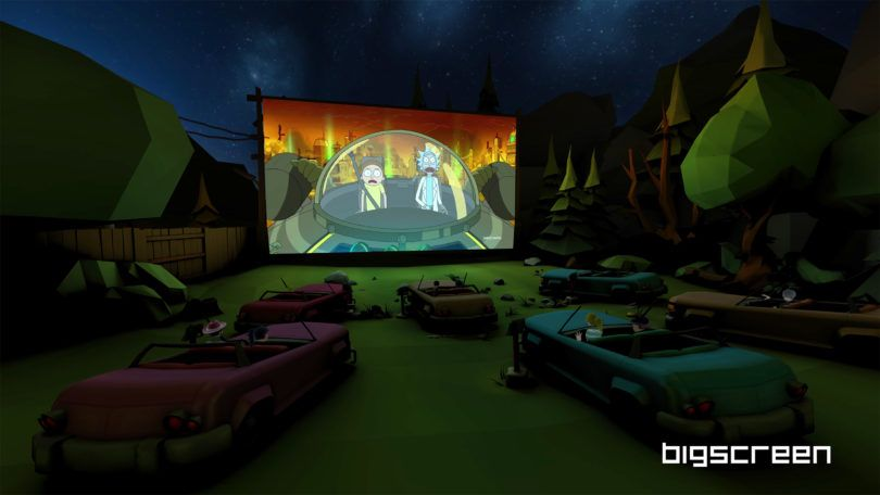 Bigscreen VR Launches 172 Free TV Channels
