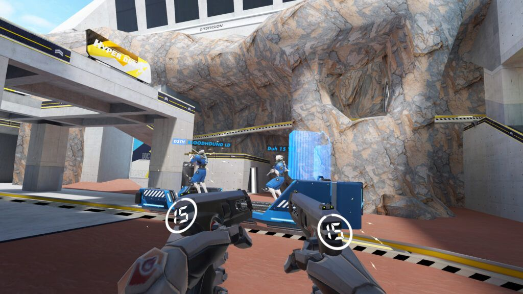 New VR FPS Hyper Dash coming to the Quest