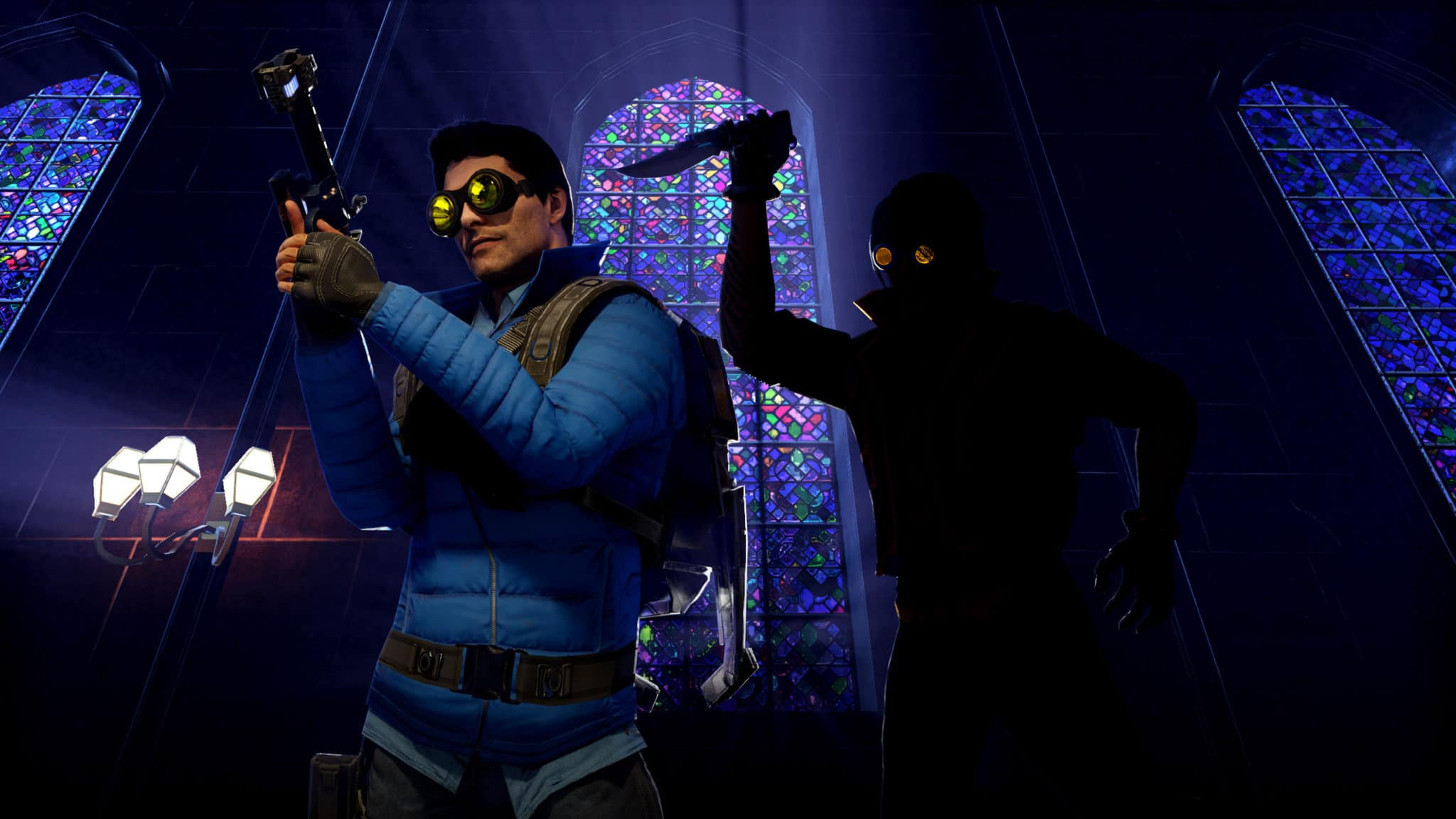 New Population One Season One features include new weapons, map updates and melee weapons like the sword.
