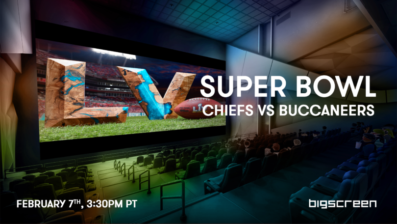You can watch the Super Bowl for free with Bigscreen VR