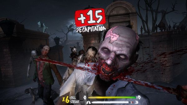 What kind of DLC for The Walking Dead Saints and Sinners is on the horizon? (Credit: Skydance Interactive)