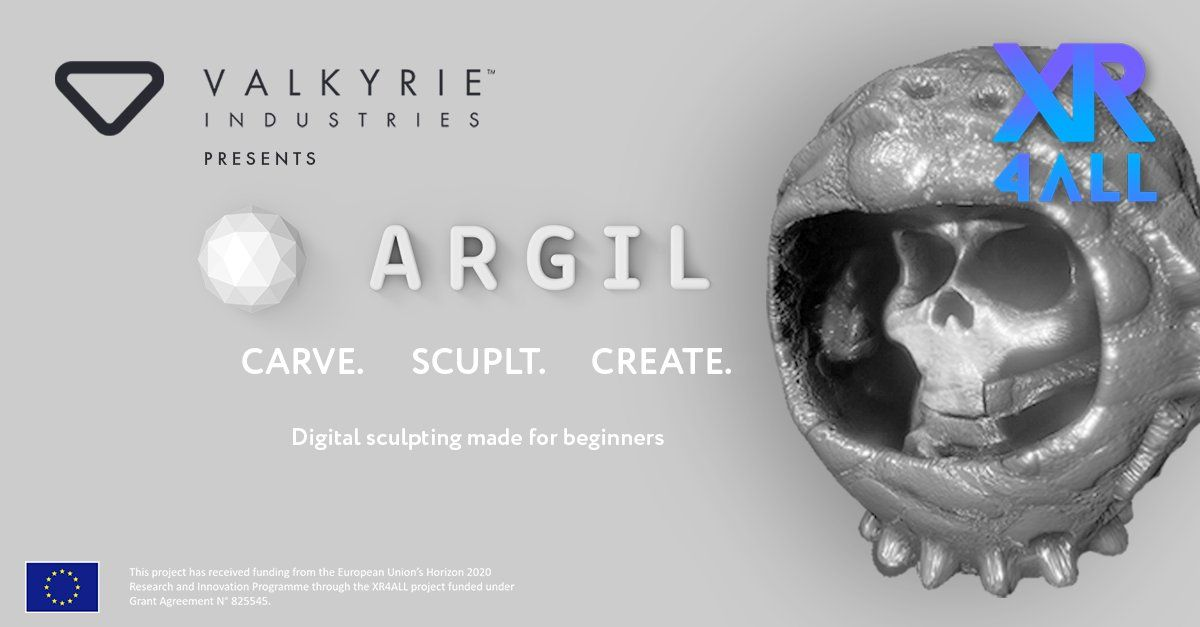 New VR sculpting app Argil will launch in April 2021