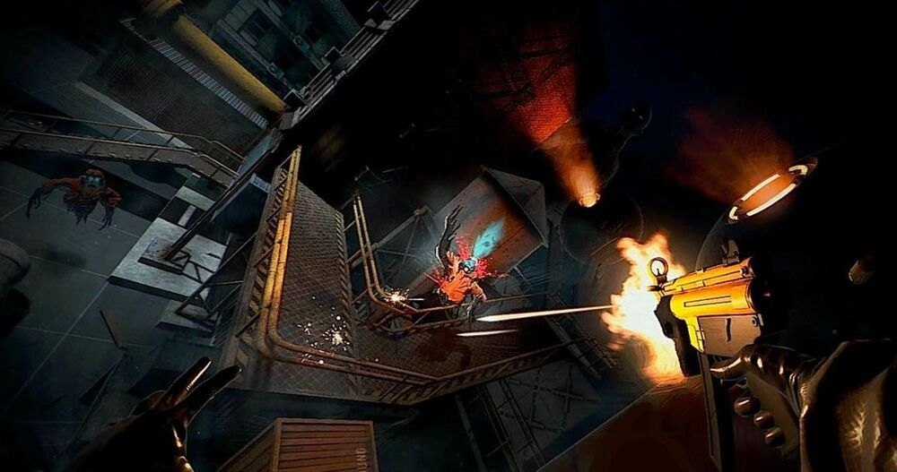 Very little is known as Stress Level Zero's follow-up to Boneworks, but we may have just seen the first hints that it'll be coming to PlayStation VR 2. PSVR.