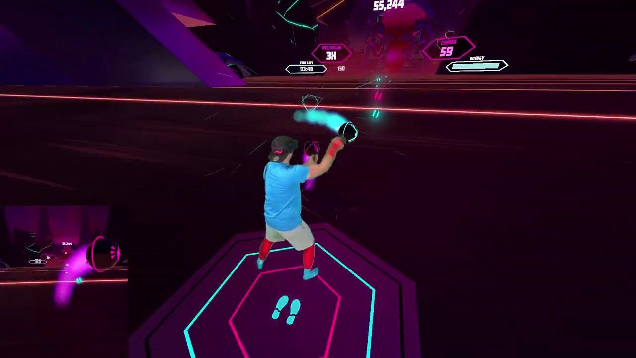 A free demo for Kluge Interactive's addictive freestyle dance VR rhythm game is available now through App Lab.